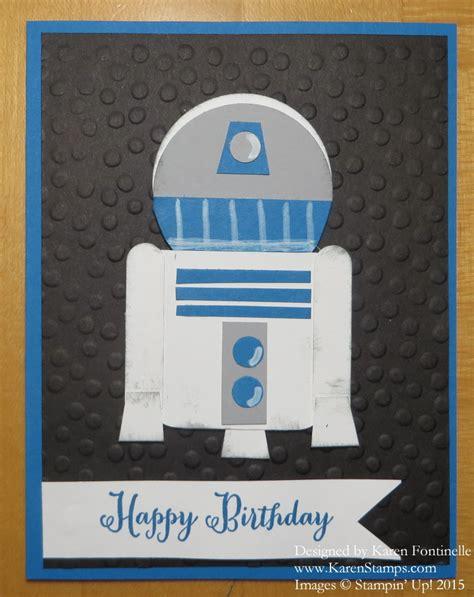 R2d2 Birthday Card