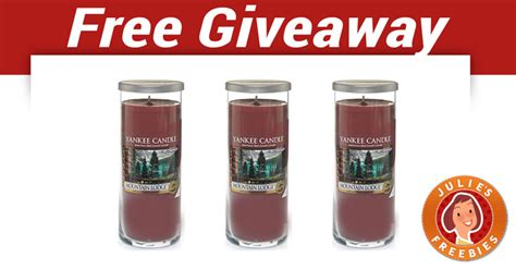 Yankee Giveaways - free yankee candle giveaway julie s freebies