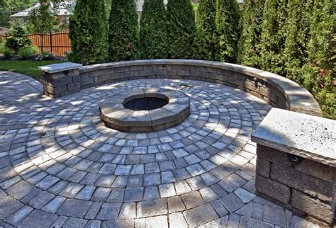 Circular Paver Patio Clayton Mo Home Addition Traditional Patio St Louis By Hibbs Homes