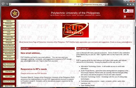 pup website polytechnic of the philippines