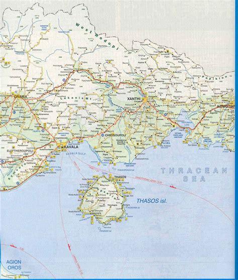 Carte de Grece. Cartes d' Athenes, Cyclades, Corfou, Crete, Rhodes, Mykonos, Santorin
