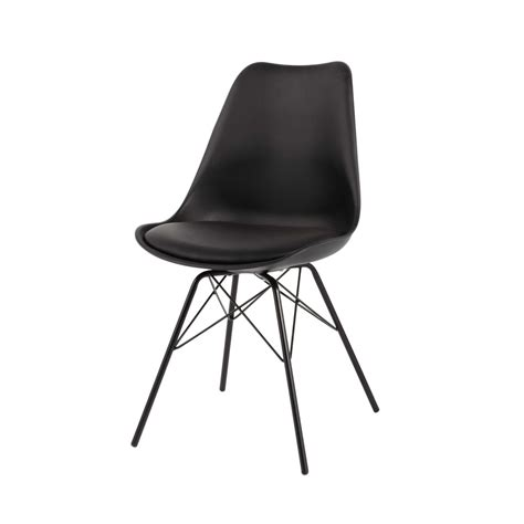 Exceptionnel Chaise Salle A Manger Moderne #6: chaise-en-polypropylene-et-metal-noire-coventry-1000-4-33-146731_0.jpg