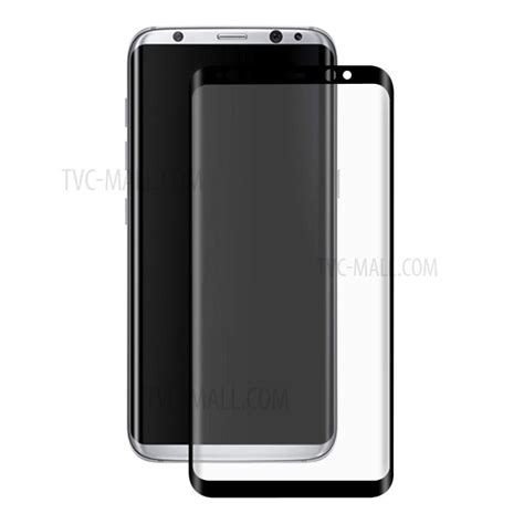 Tempered Glass 3d Samsung Galaxy S8 Curve Cover Anti Gores hat prince for samsung galaxy s8 0 26mm 9h 3d curved cover tempered glass screen protector