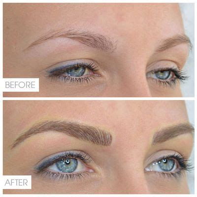 eyebrow tattoo vancouver instagram image result for microblading brows blonde microblading