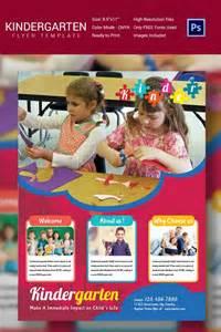 preschool flyer template daycare flyer template 27 free psd ai vector eps