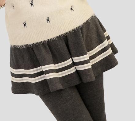 Skirty Legging Xl s xl 3 colors pleated skirt skirt sp153525