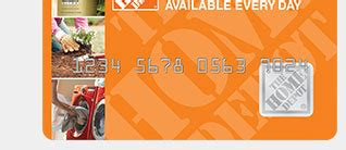 home depot credit card offers