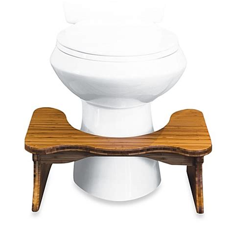 Toilet Stool Bed Bath And Beyond buy squatty potty 174 7 inch toilet stool in white from bed