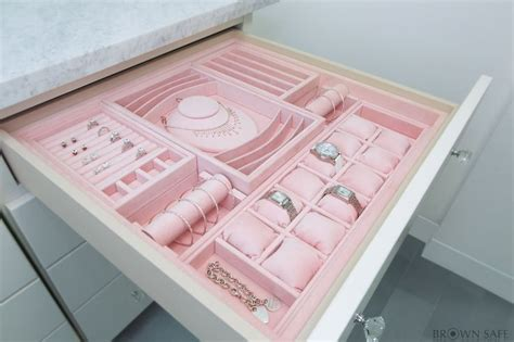 Jewelry Inserts For Drawers by 25 Best Ideas About Jewelry Organizer Drawer On