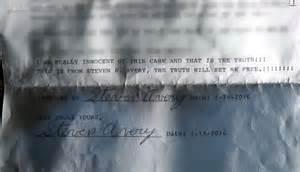 steven avery fox news making a murderer steven avery sends letter from prison