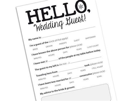 Wedding Wisdom Advice by Marriage Advice Card For Wedding Reception