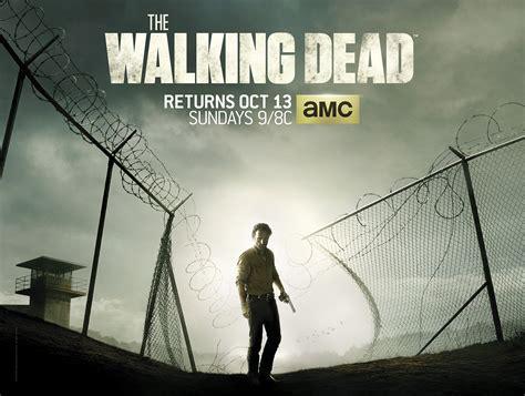 the walking dead season 4 tv spots poster the prison is