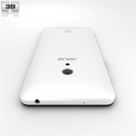 Backdoor Asus Zenfone 5 White asus zenfone 5 pearl white 3d model hum3d