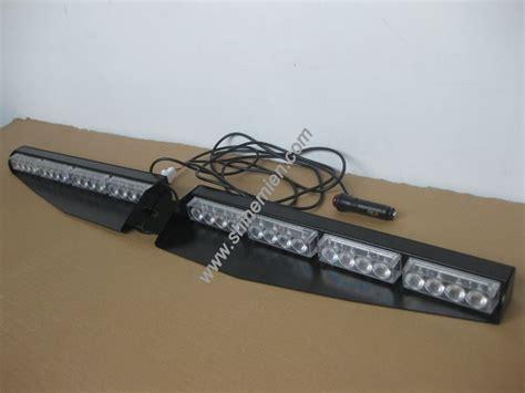 led dash light bar led visor light emergency led warning strobe mount deck