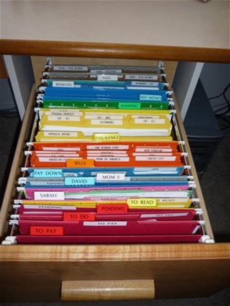 to organize how to organize your filing cabinet