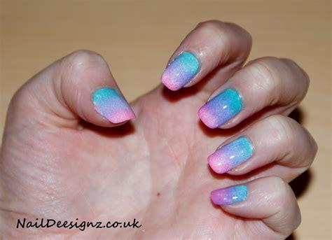 ombre nail design naildeesignz ombre nail art