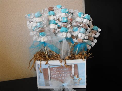 baby boy shower centerpiece a of this a of that boy baby shower goodies and ideas
