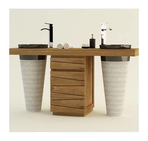meuble de salle de bain bois meuble de salle de bain