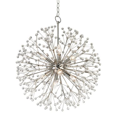 mini chandeliers hudson valley 6020 pn dunkirk polished nickel mini