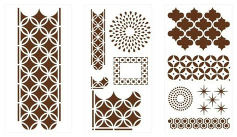 Kitchen Stencil Designs moroccan pattern of heating your home in autumn fresh
