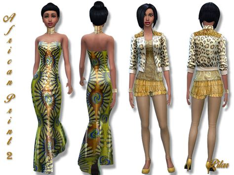 sims 3 downloads african the sims resource the sims resource african print 2 by pilar sims 4 downloads