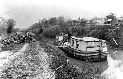 boat repair near dayton ohio history extra miami and erie canal