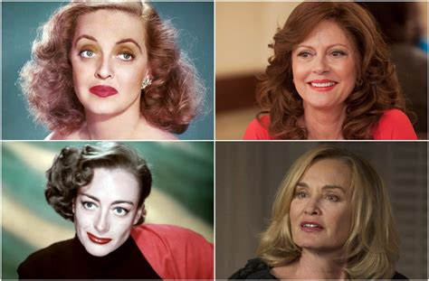 jessica lange and susan sarandon as joan crawford and kultne zavade jessica lange i susan sarandon kao joan