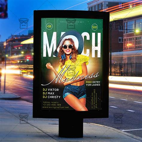 customizable design templates for march madness flyer template