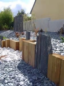 bordure de jardin en bois de palette meilleures id 233 es