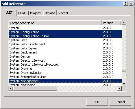 how to implement a simple filewatcher windows service in