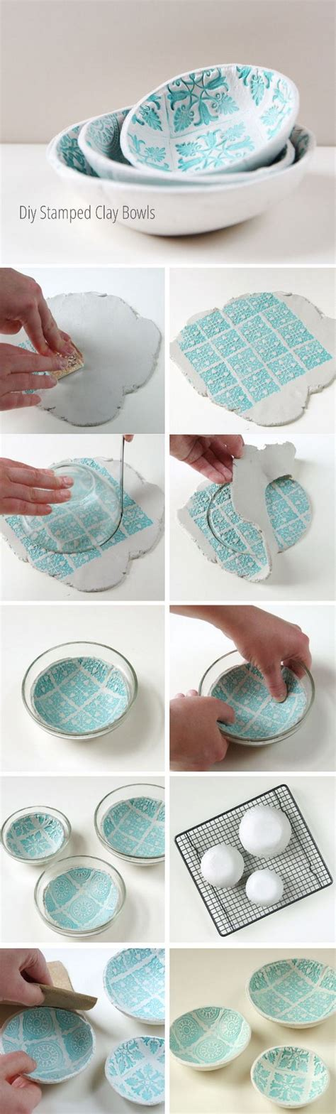 How To Make Paper Clay At Home - 20 creative diy bowl ideas tutorials noted list