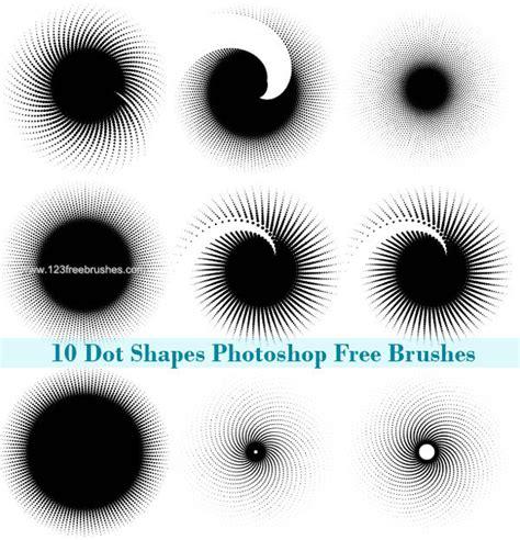 dot pattern brush photoshop free halftone dots photoshop brushes free