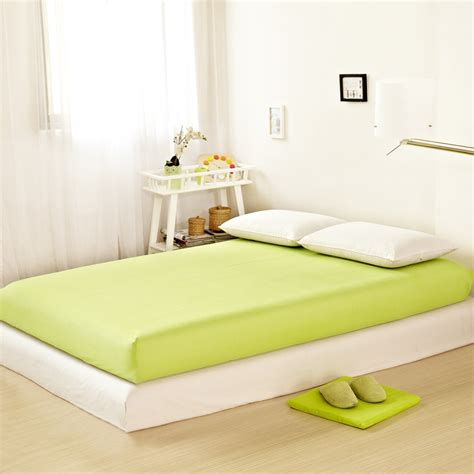 Colored Mattress Cover by Wholesale Solid Color Fitted Sheet Home Textile Bed Sheets Hotel Bed Covers Mattress Cover