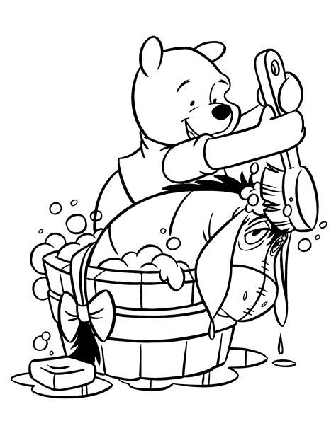 Coloring Page Winnie The Pooh Coloring Pages 120 Pooh And Friends Coloring Pages