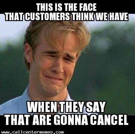 Funny Meme Center - please stay don t leave us call center memes