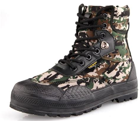 camouflage color army shoes canvas shoes boots tactical boots desert boots