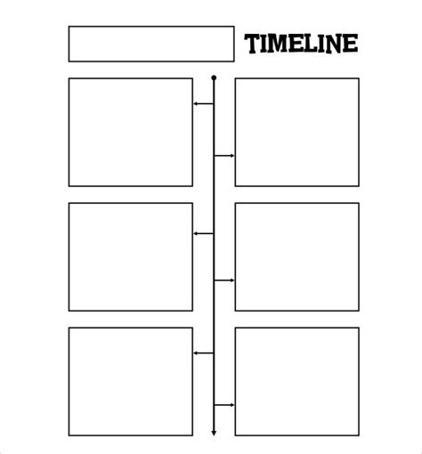 33 blank timeline templates free and premium psd word