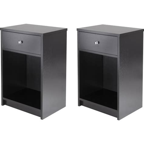 ladan nightstand set of 2 walmart