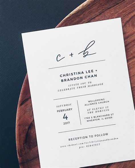 invitation letter design for wedding minimalist black and white hand lettered wedding invitations
