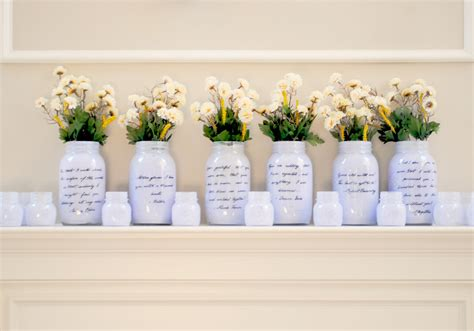 wedding reception centerpieces with jars jar wedding centerpieces miraculous of