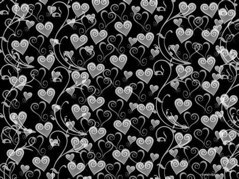 black and white heart pattern wallpaper black and white heart wallpapers wallpaper cave