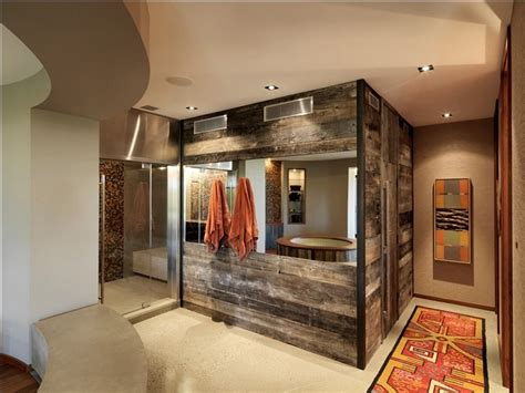 bathroom wood walls salvaged style 10 ways to transform your bathroom with