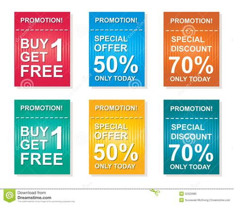 sale coupon offers promotions discount sale vector