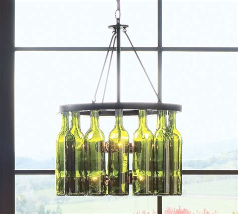 Wine Bottle Light Fixtures Trend Alert Wine Bottle Lighting