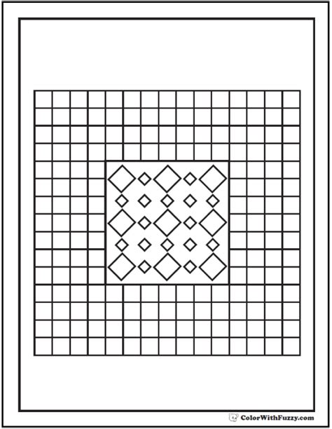 brick pattern worksheet pattern coloring pages customize pdf printables