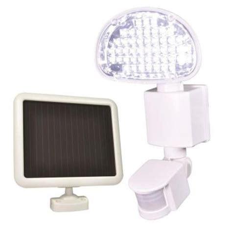 defiant 48 light outdoor white solar led motion light