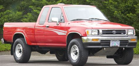 how cars run 1994 toyota xtra interior lighting toyota tacoma extended cab pickup 1994 red for sale jt4vn13g4r5134502 1994 toyota pickup xtra