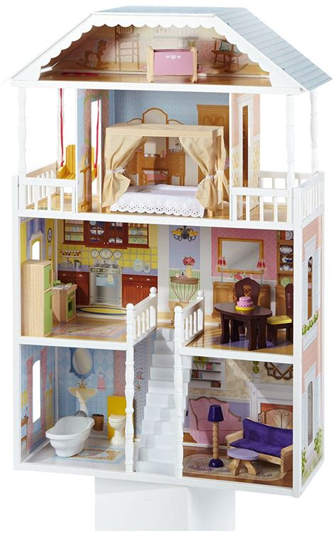 doll house review kidkraft savannah dollhouse with furniture review