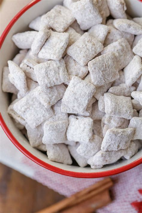 puppy chow variations snickerdoodle puppy chow recipe lil