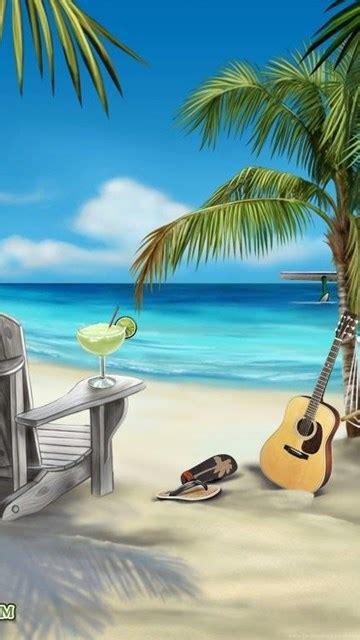 margaritaville cartoon margaritaville beach scene picture wallpapers 1024 x 768